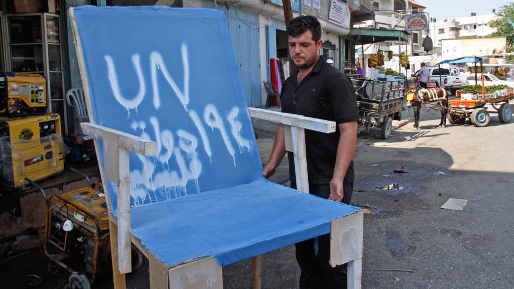 Palestinská demonstrace na podporu členství v OSN