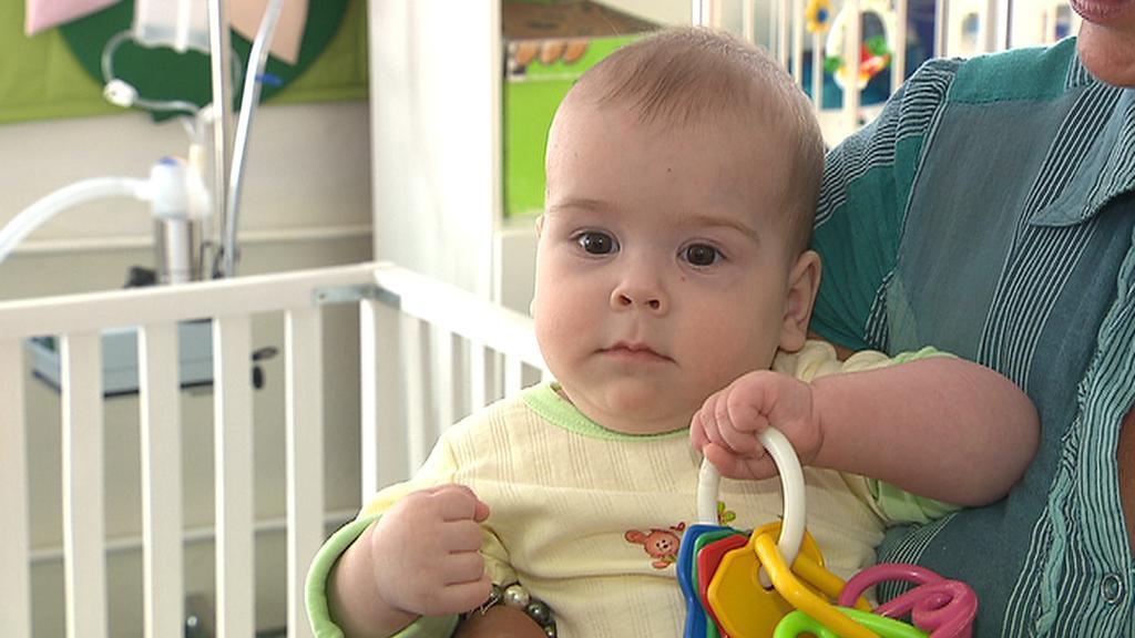 Miminko v kojeneckém ústavu