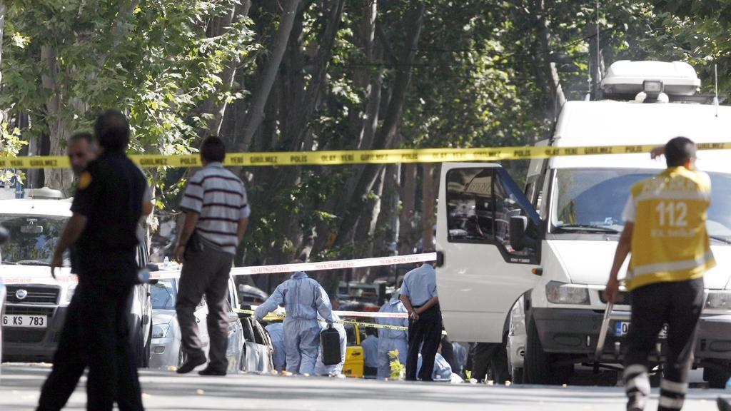 Exploze v Ankaře