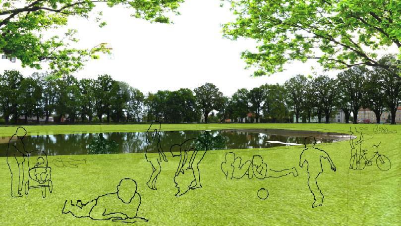 Obnova území kolem rybníku Škorna