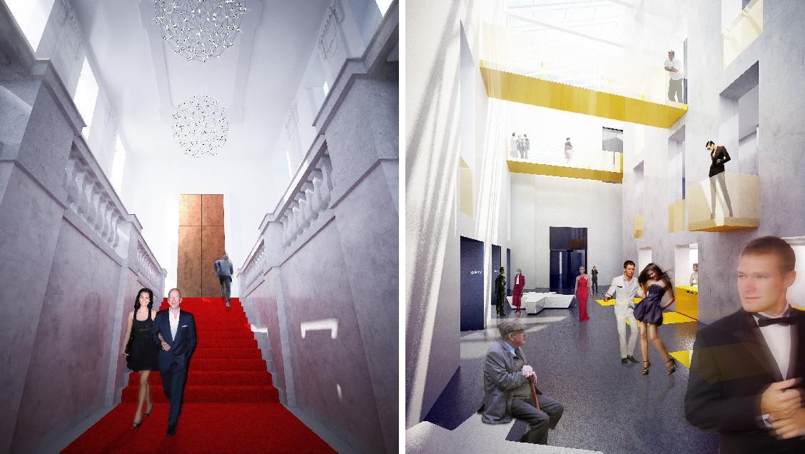 Přestavba historické budovy, ČB (ateliér edit!)