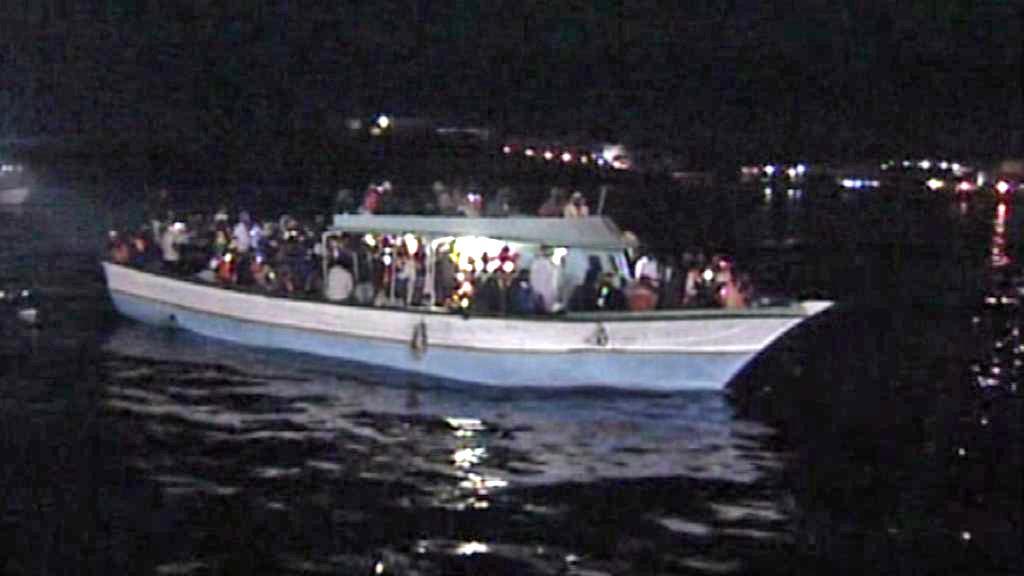 Severoafričtí uprchlíci míří na Lampedusu