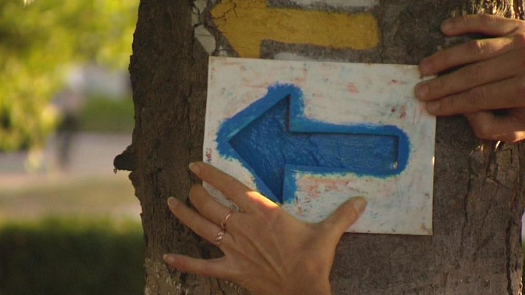 Malování turistických značek