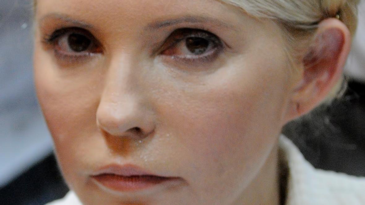 Julija Tymošenková před soudem