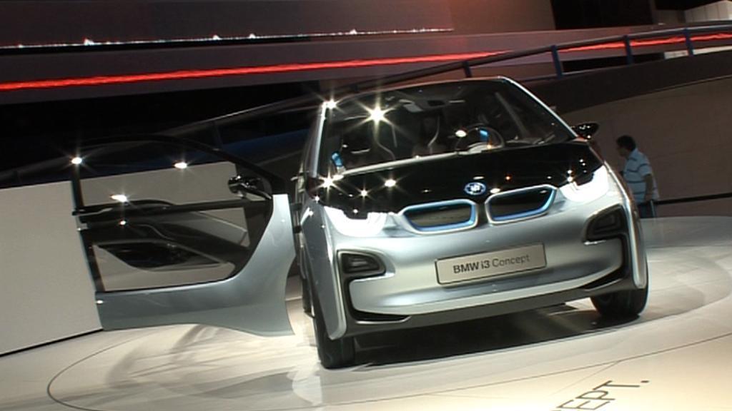 Elektromobil i3 od BMW