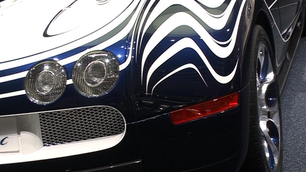 Bugatti Veyron v provedení L´Or Blanc