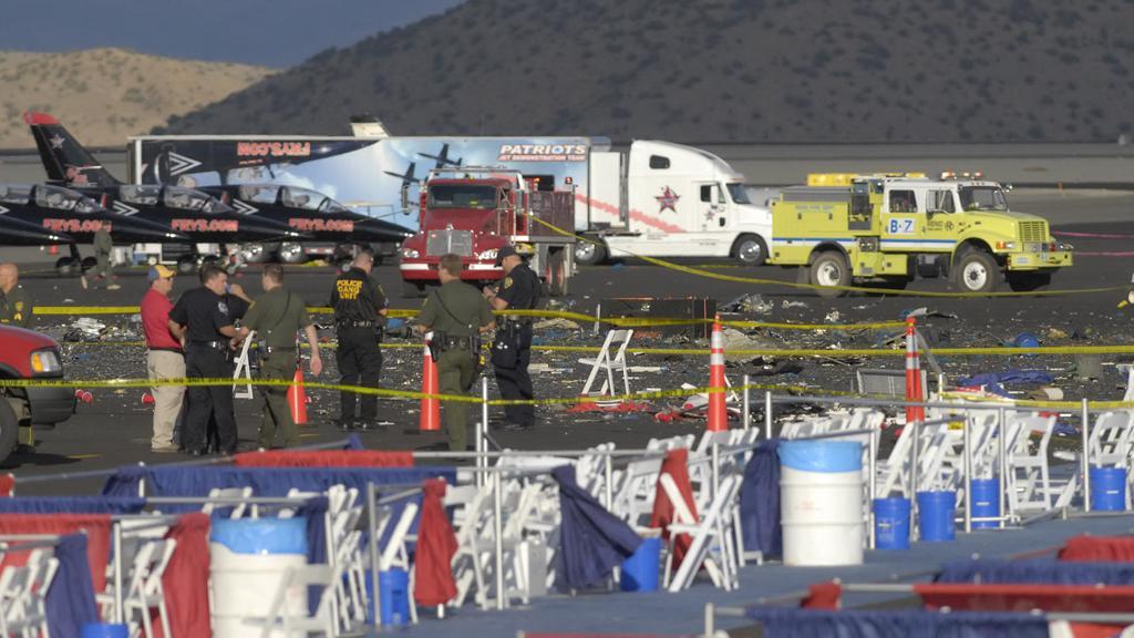 Nehoda na letecké show v USA