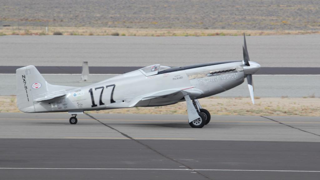 Historický letoun Mustang