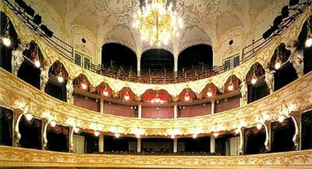Hlediště Karlovarského městského divadla