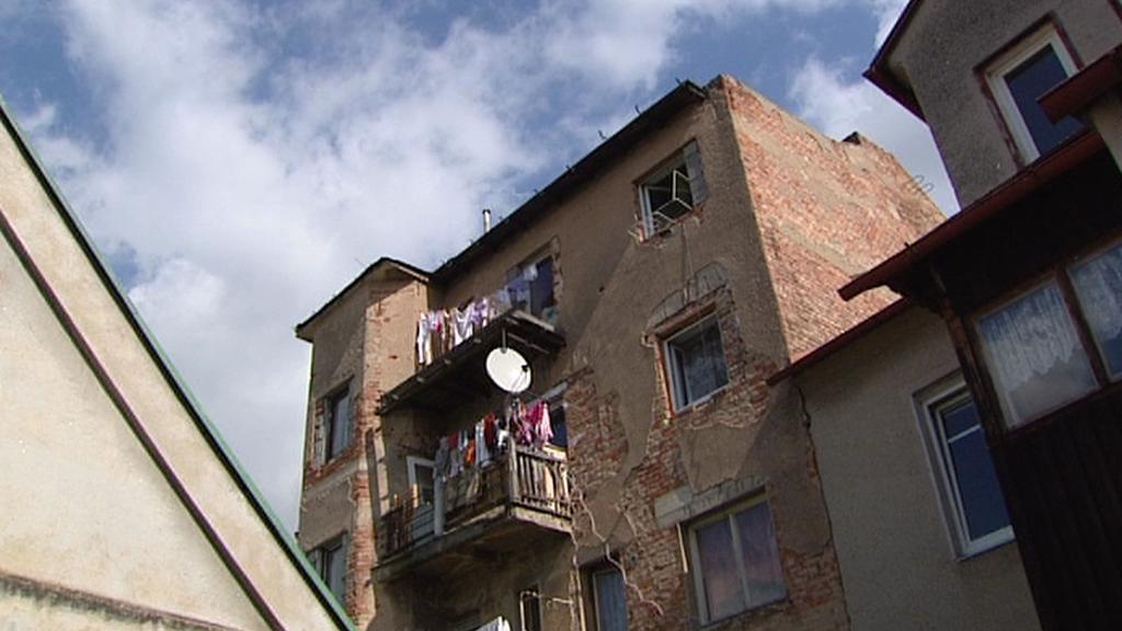 Dům s romskými nájemníky