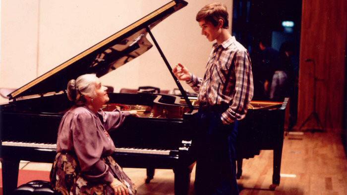 Nikolaj Luganskij s Tatianou Nikolajevou