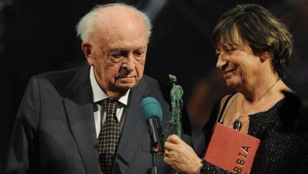 Otakar Vávra s manželkou Jitkou Němcovou