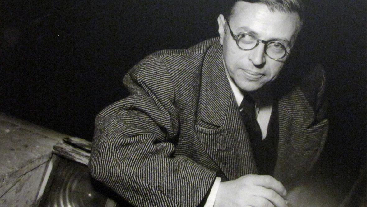 Jean-Paul Sartre (Paříž 1946)