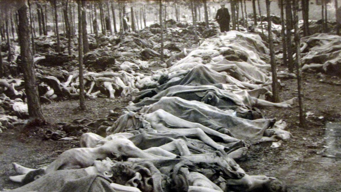Bergen-Belsen, 15. 4. 1945