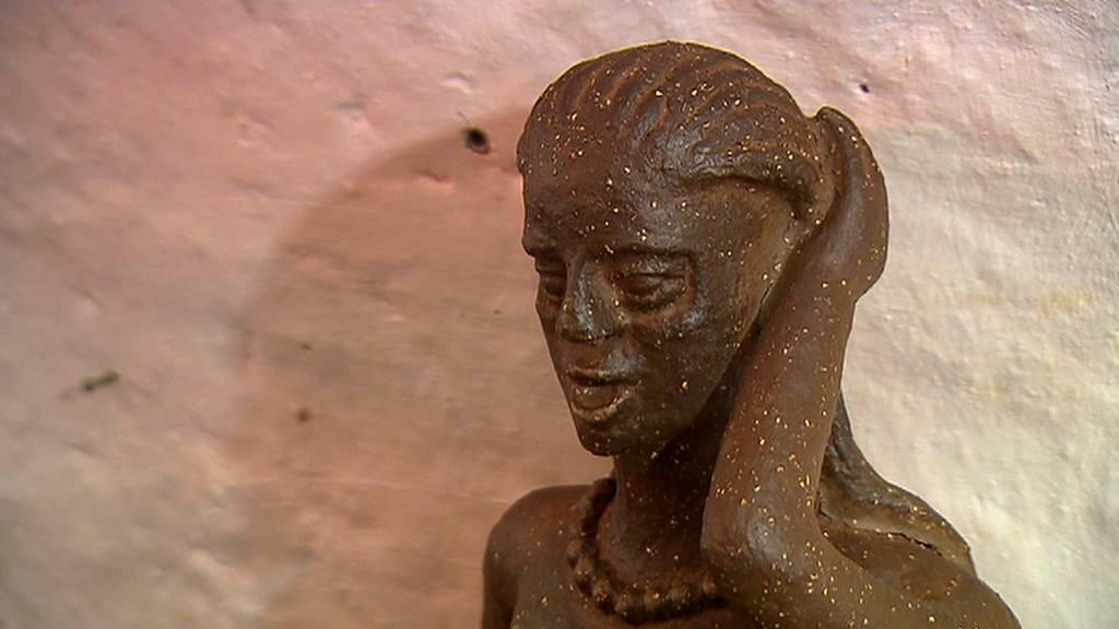 Práce sochařky Boženy Přikrylové