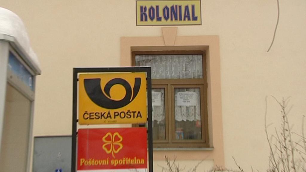 Výdejní místo České pošty v Ošelíně