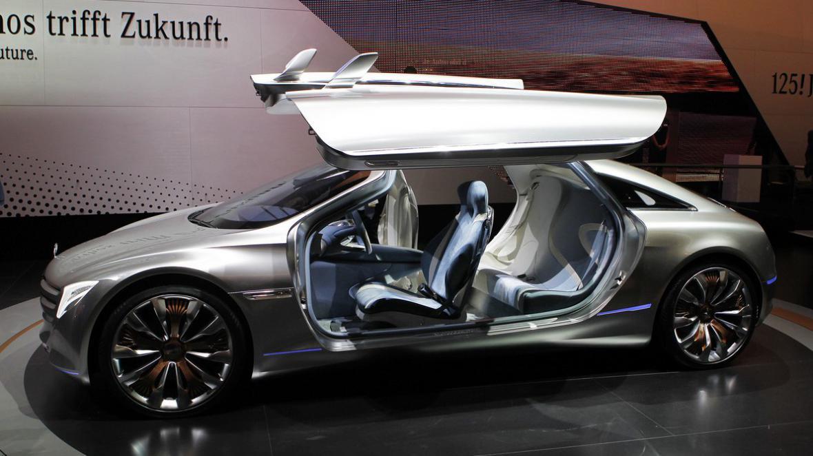 Koncept F125 od Mercedesu