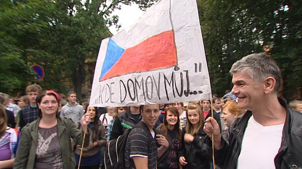Pochod ve Varnsdorfu