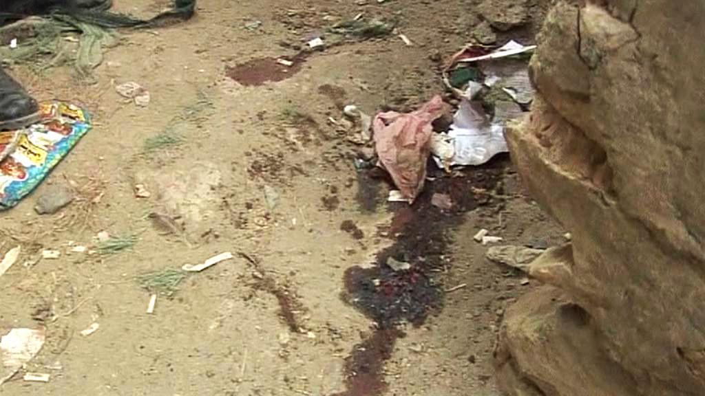 Následky bojů s ozbrojenci Tálibánu v Kábulu