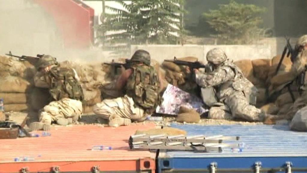 Boje s ozbrojenci Tálibánu v Kábulu