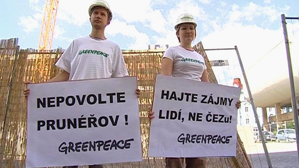 Protest proti Prunéřovu