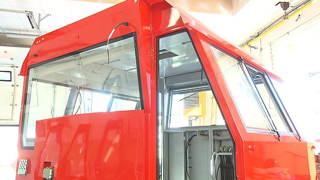 Výroba nové lokomotivy