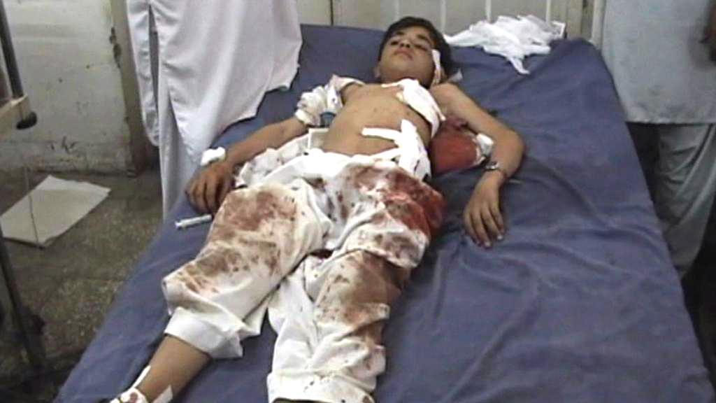 Oběť útoku na pákistánský školní autobus