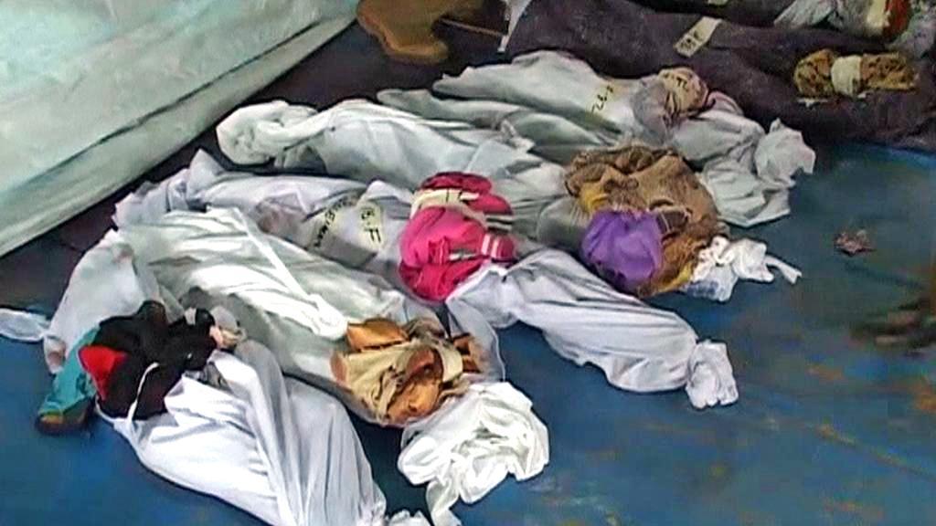 Oběti lodního neštěstí na Zanzibaru