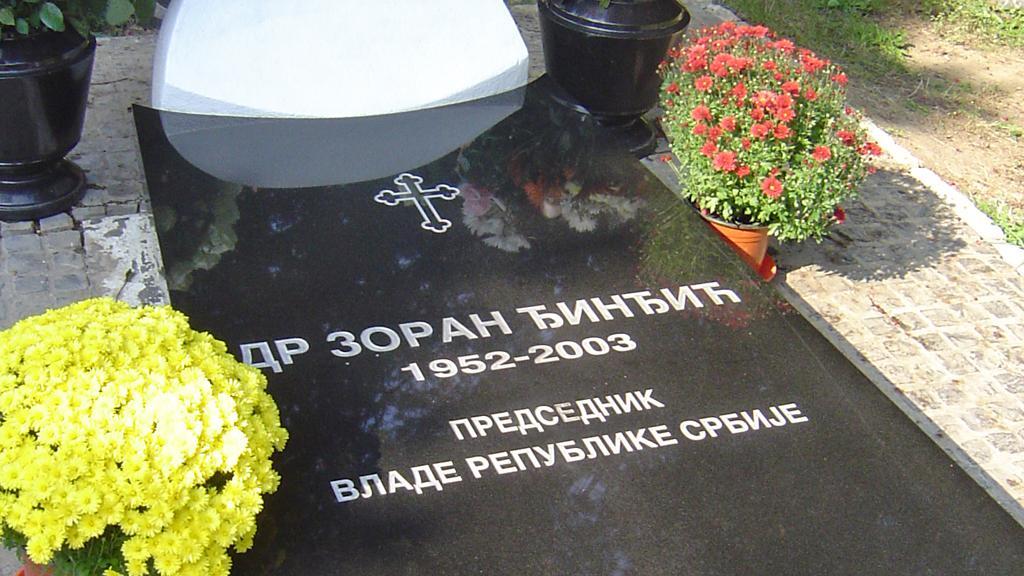 Hrob Zorana Djindjiče