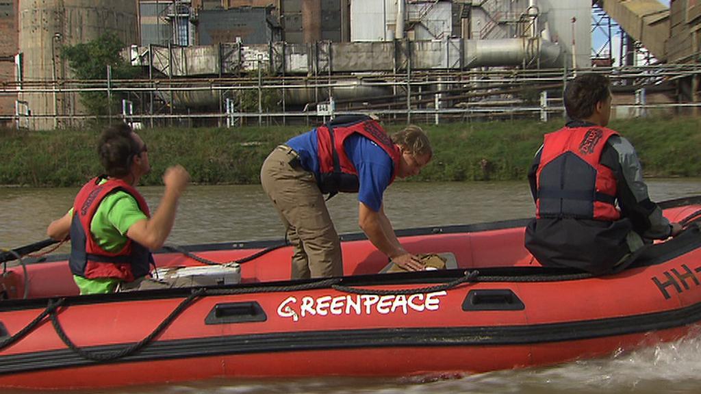 Greenpeace monitoruje kvalitu labské vody