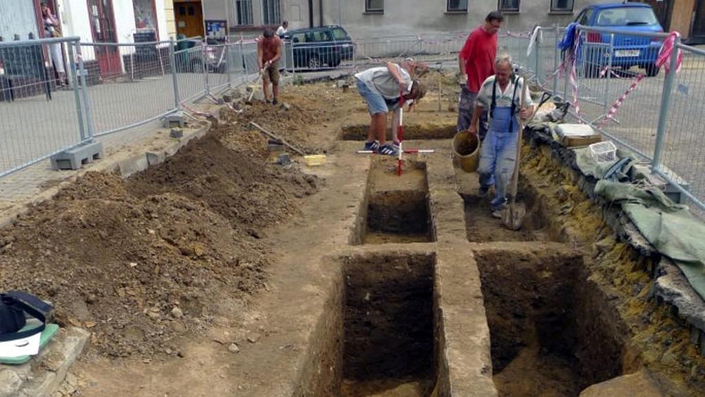 Archeologický výzkum ve Mšeně
