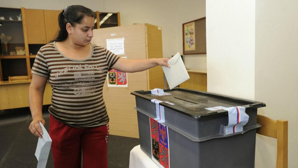 Volby v Krupce