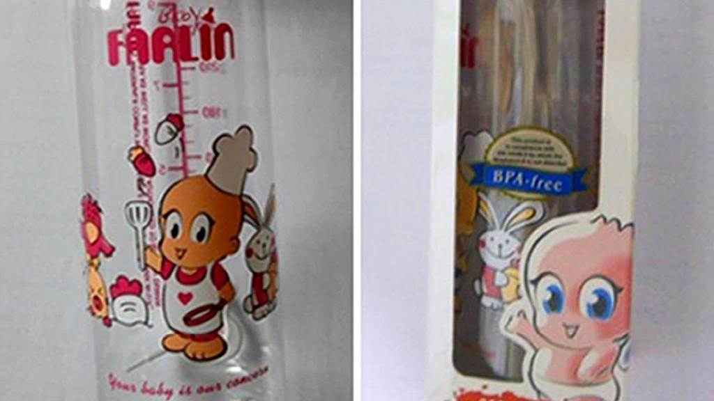 Nebezpečná kojenecká lahev