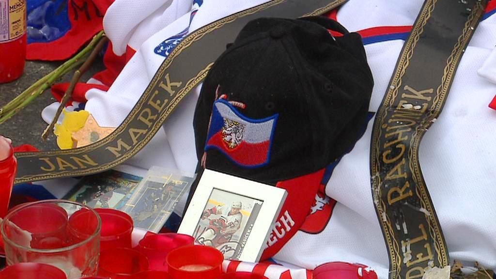 Pieta na počest zemřelých hokejistů