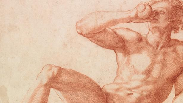 Giorgio Vasari / studie chlapce (detail, 1530/40)