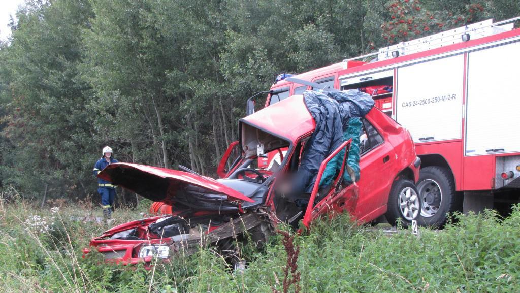 Následky tragické havárie