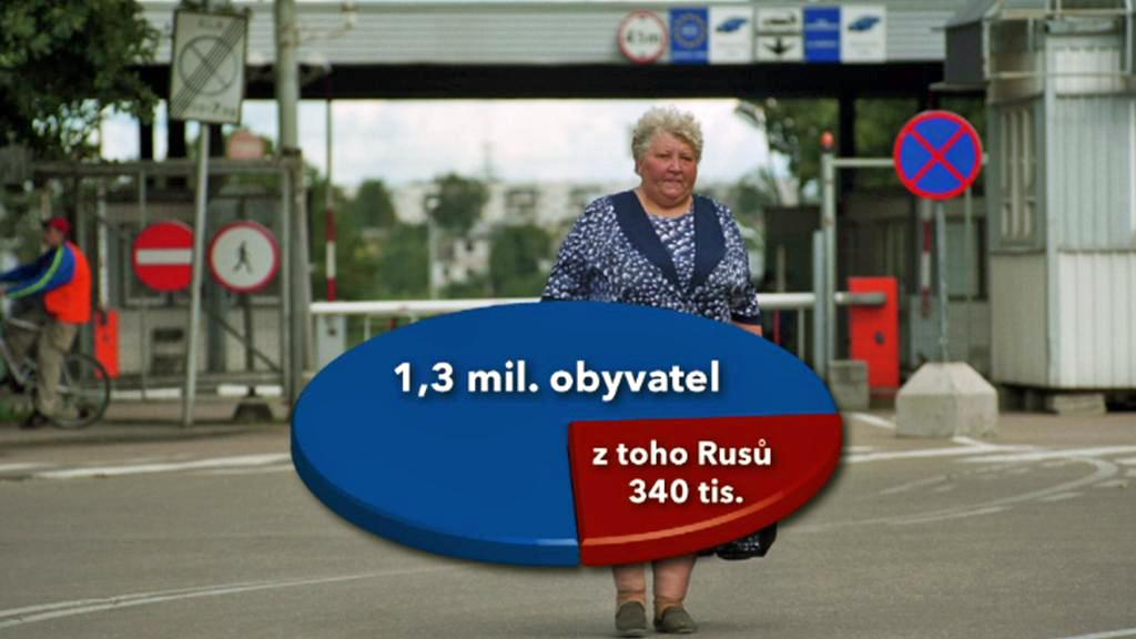 Etničtí Rusové tvoří čtvrtinu obyvatel Estonska