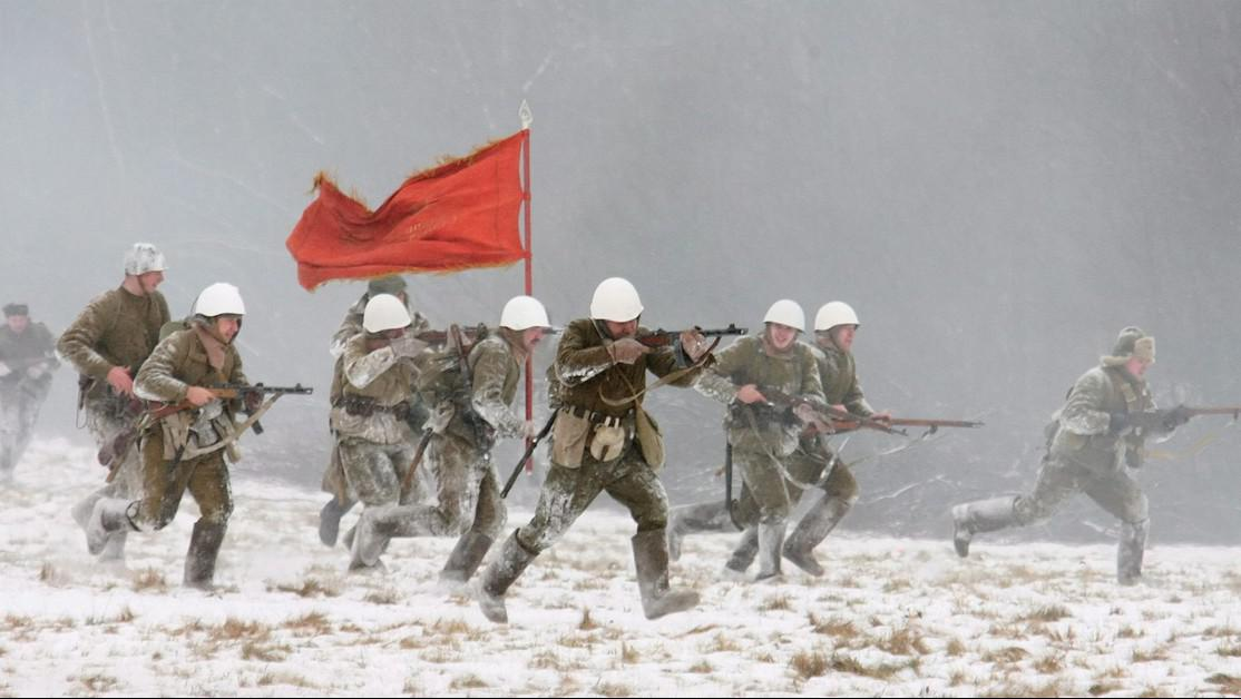 Bitva u Leningradu - rekonstrukce