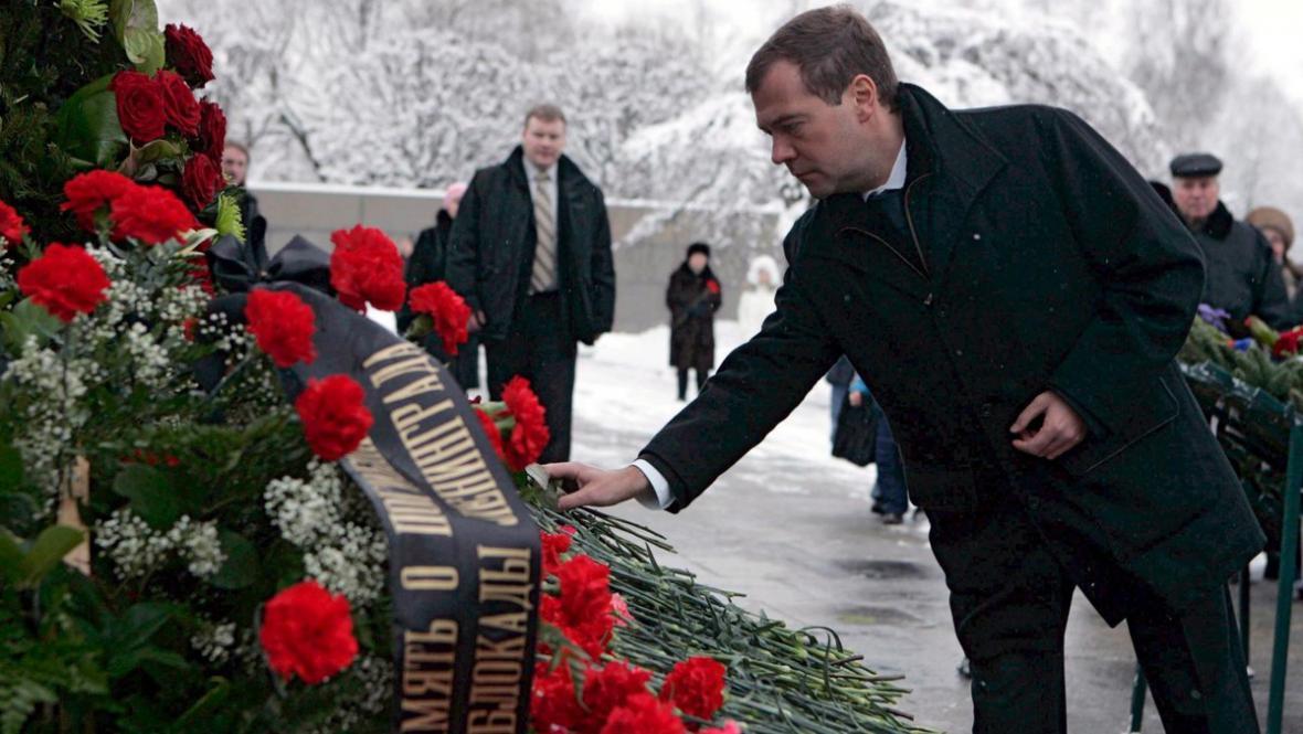 Ruský prezident Medveděv