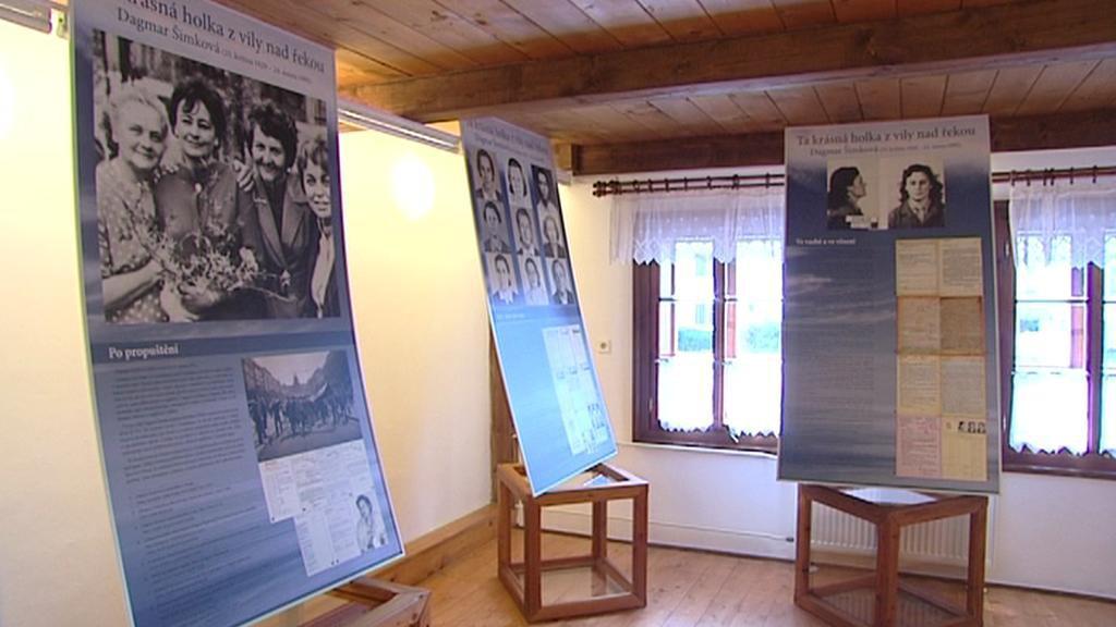 Výstava o životě politické vězenkyně Dagmar Šimkové