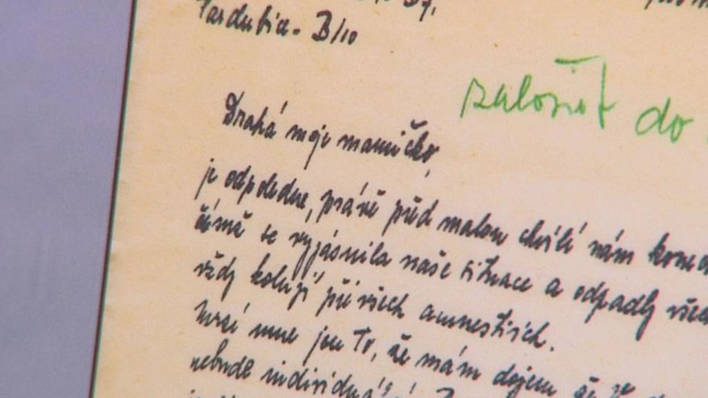 Ukázka z korespondence