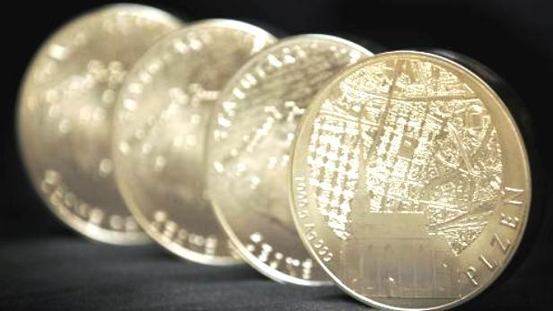 Stříbrná investiční medaile