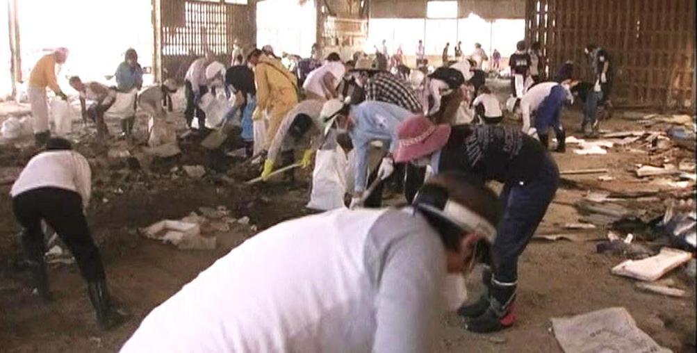 Japonští dobrovolníci