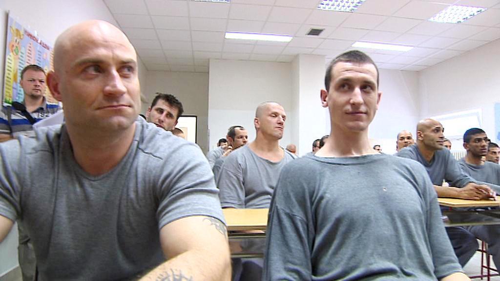 Vězni v jiřickém učilišti