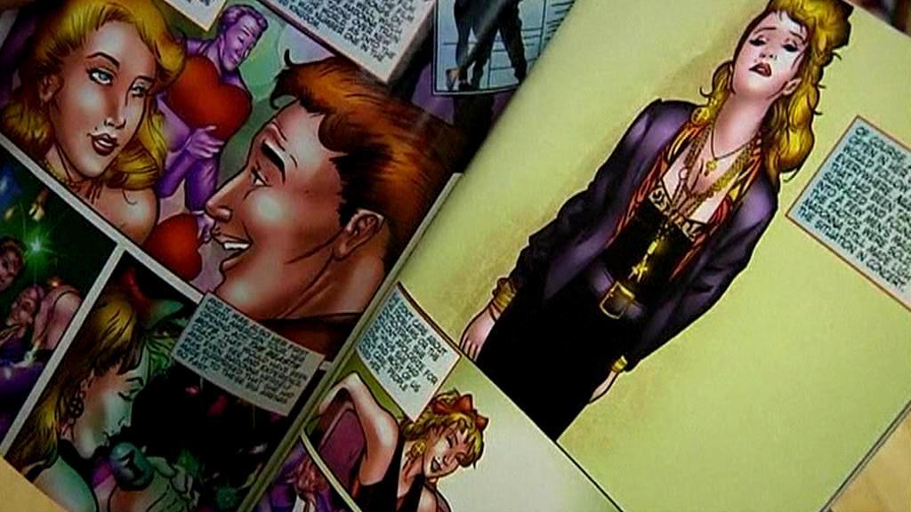 Život Madonny jako komiks