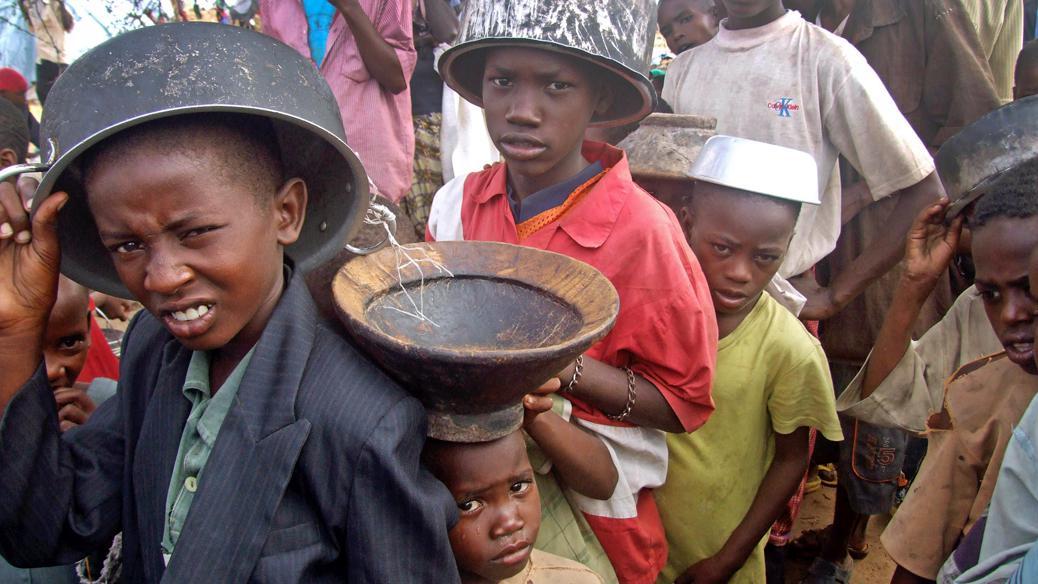 Somálsko hladoví