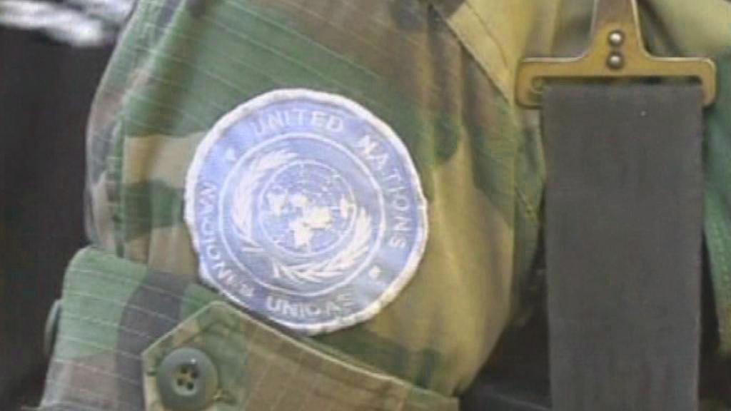 Voják OSN na Haiti