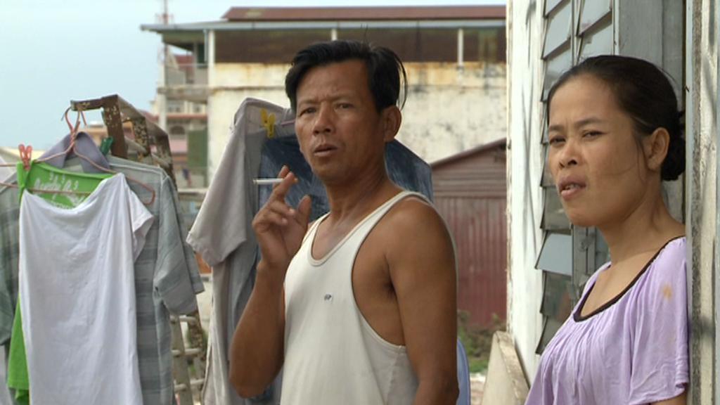 Lidé žijící u jezera Boeung Kak