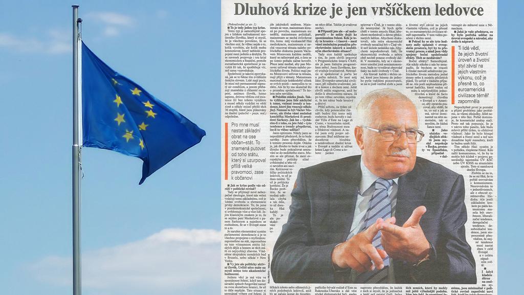 Rozhovor Václava Klause pro deník Právo