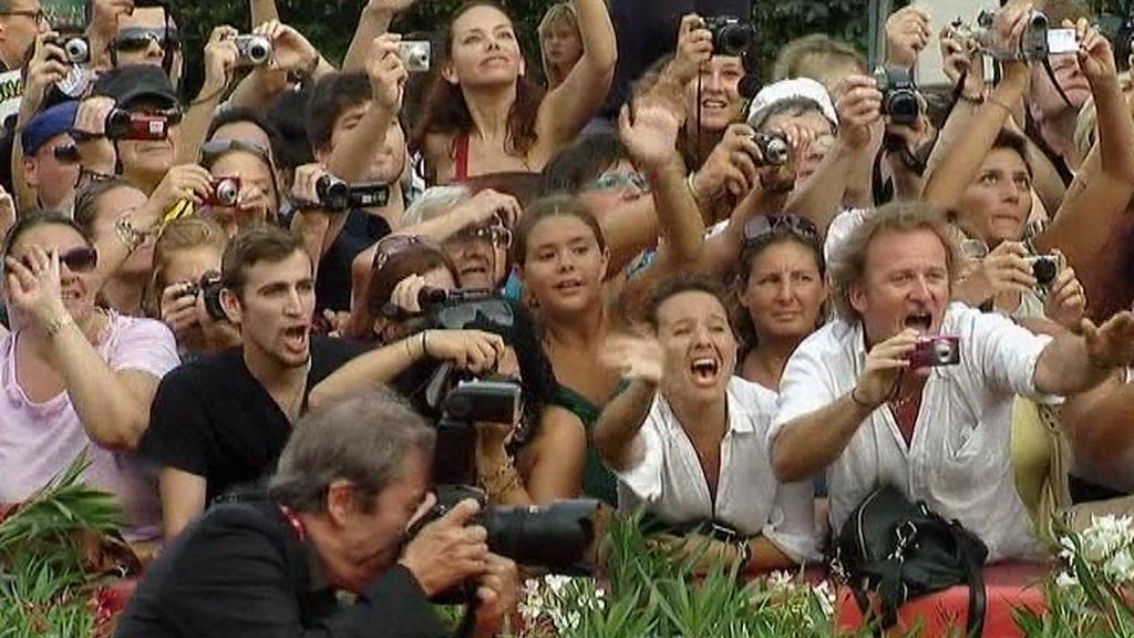Filmoví fanoušci v Benátkách